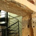Un mur en maçonnerie