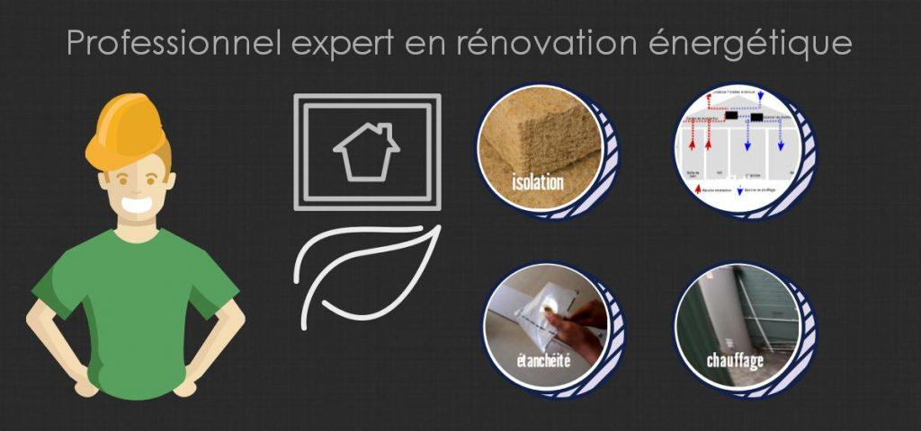 professionnel expert en rénovation énergétique