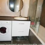Un lave linge dans la salle de bain - Lave linge dans salle de bain norme ...