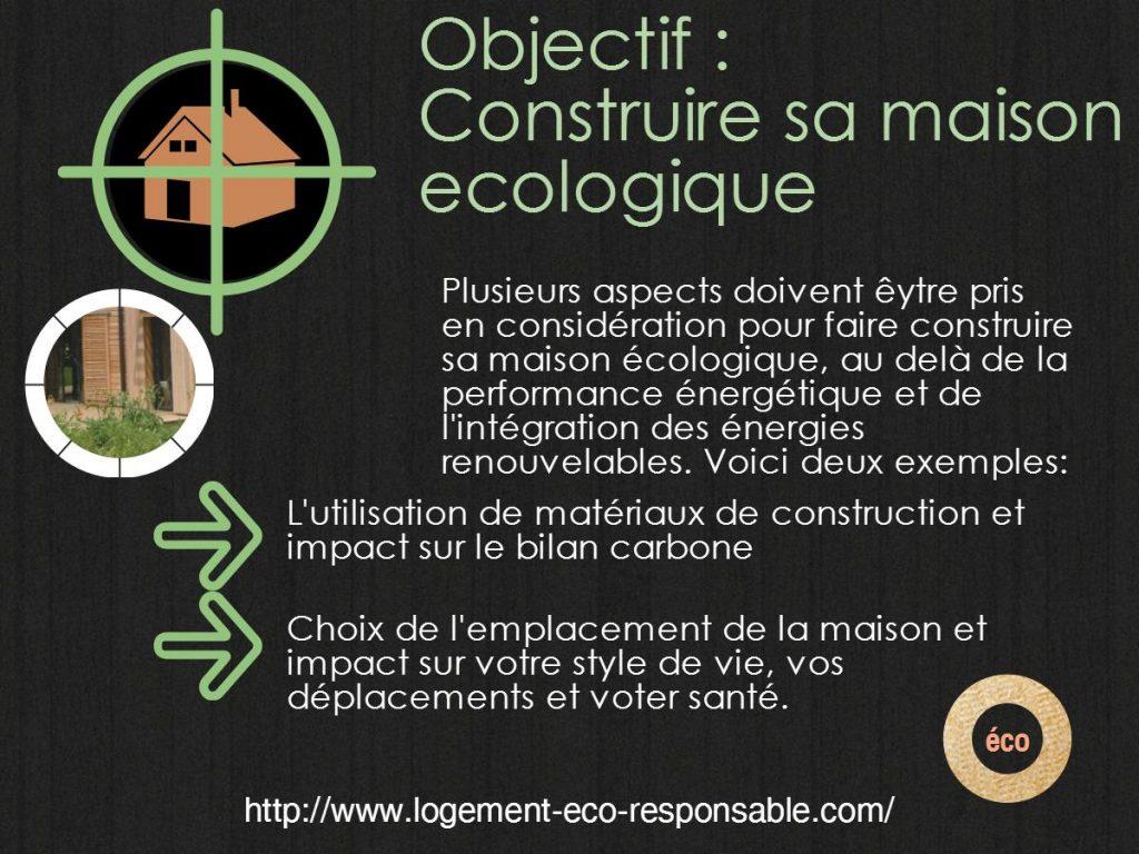 Construire sa maison ecologique for Construire sa propre maison