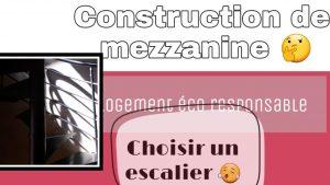 construction mezzanine chosiir son escalier
