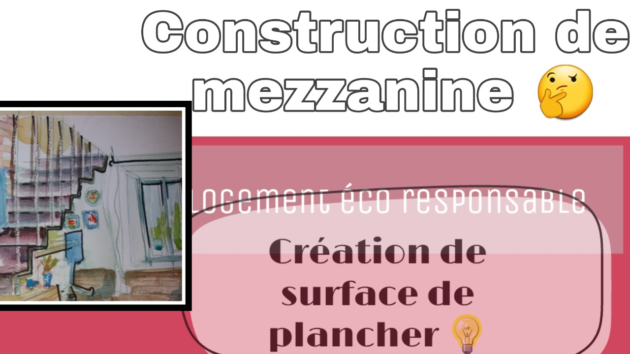 construction mezzanine declaration prealable