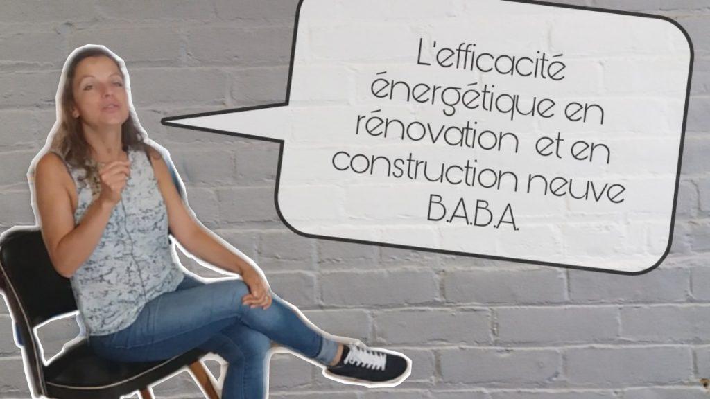 efficacie energetique renovtion constrction neuve
