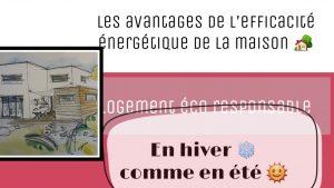 principes efficacite énergétique maison