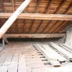 Nettoyage de grenier et préparatifs pour le début de chantier