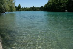 La présence d'un plan d'eau contribue a améliorer le confort d'été