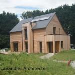 Le projet de maison individuelle bioclimatique BBC réalisé