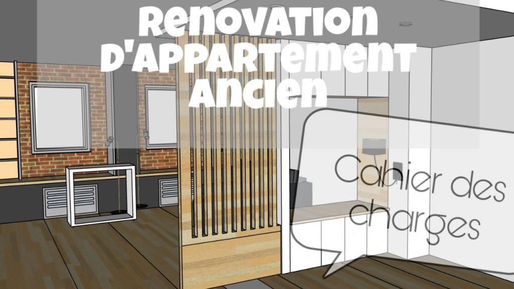 renovation appartement ancien cahier des charges