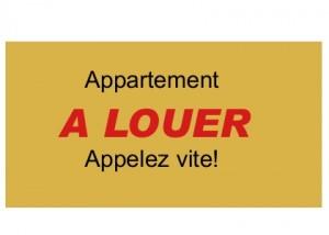 Choisir appartement destiné à la location