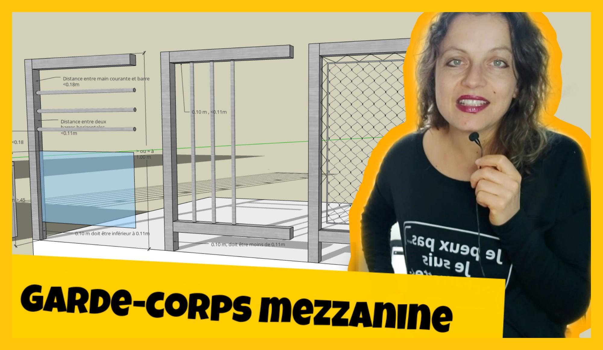 garde corps mezzanine