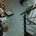 Travaux de rénovation dans un local habité