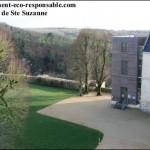 Extension du château de Sainte Suzanne