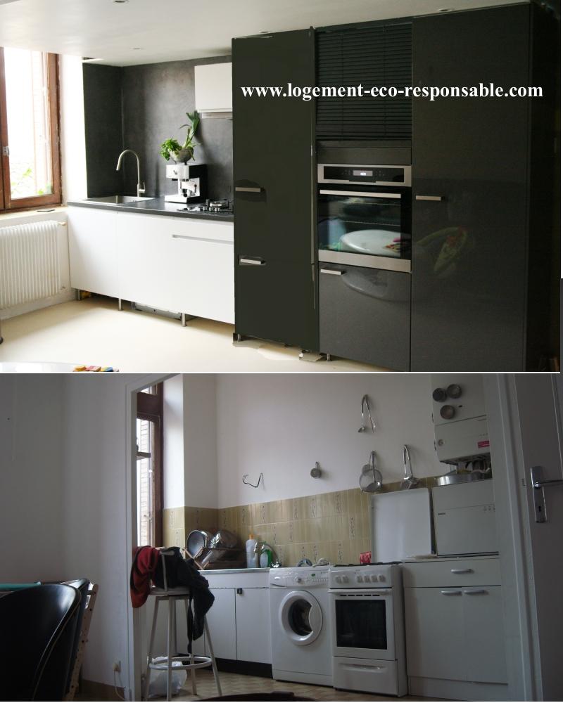 Rénovation cuisine Béton ciré
