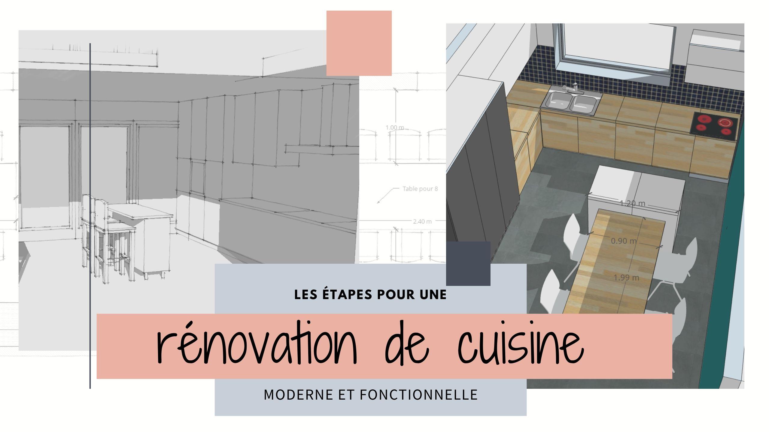 renovation de cuisine