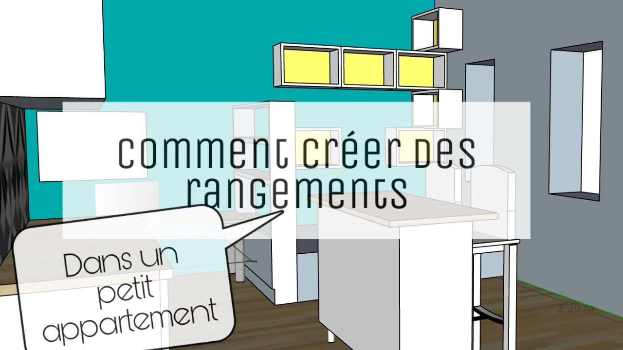 rangement petit appartement