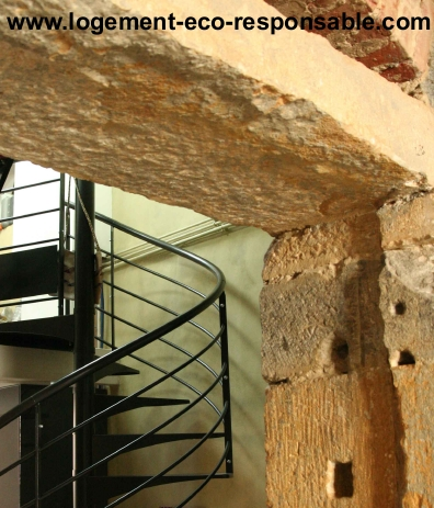 mur pierre maconnerie apparente