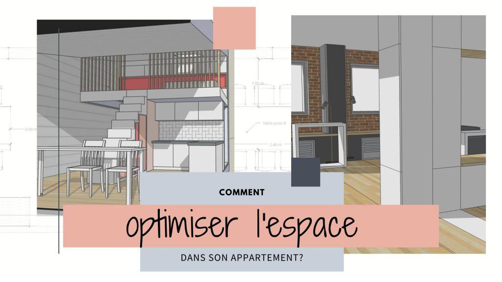 comment optimiser l espace dans un appartement
