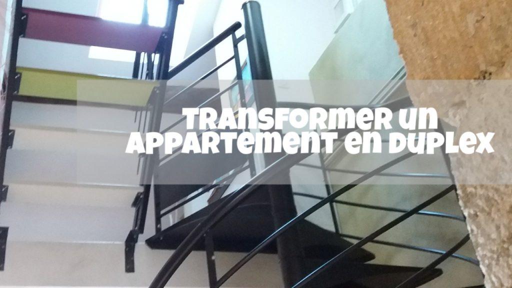 tranformation appartement en duplex renovation