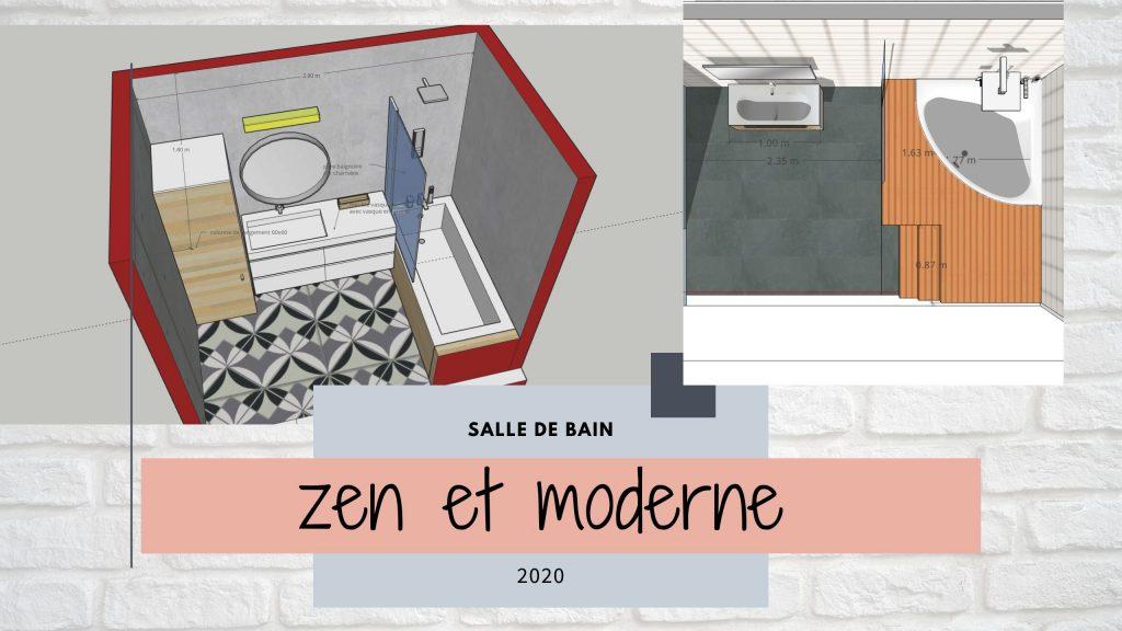 salle de bain zen et moderne
