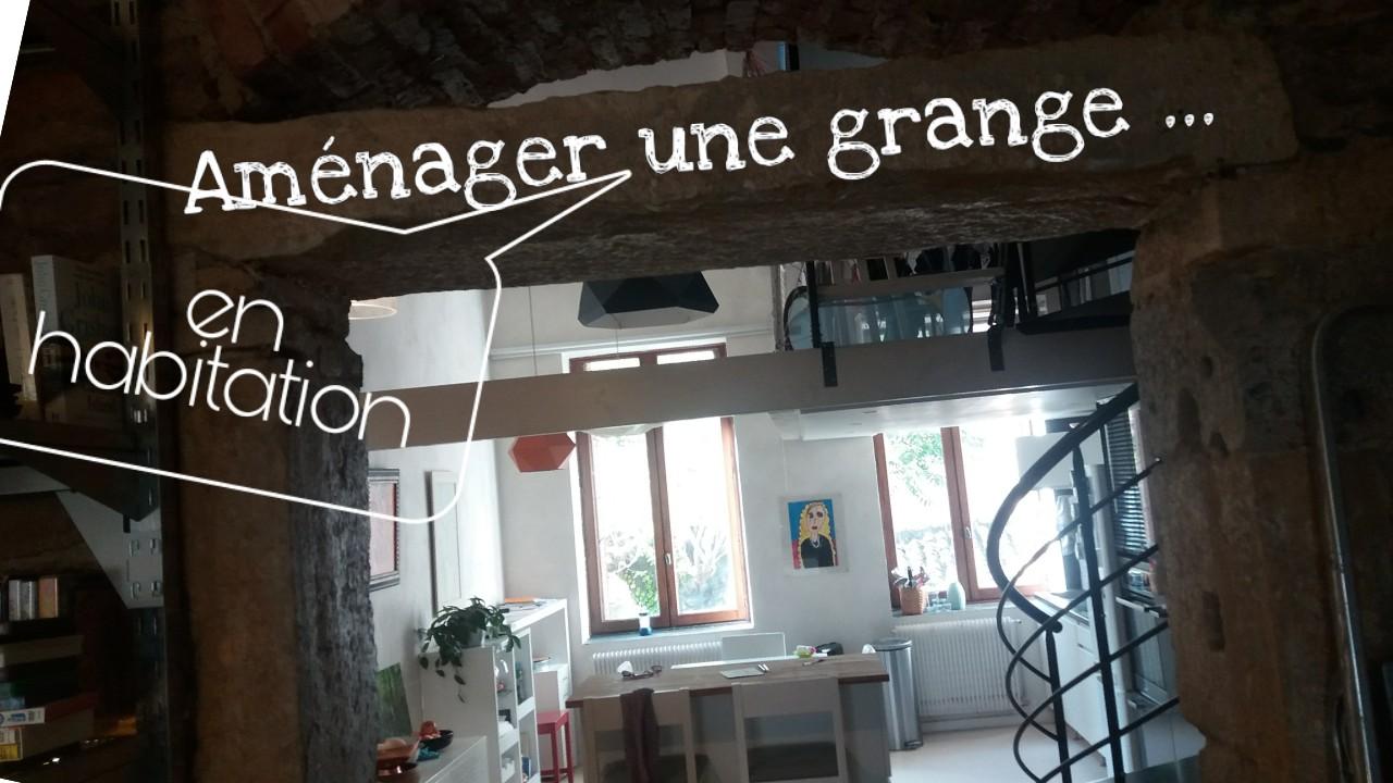 amenagemnt renovation grange en habitation
