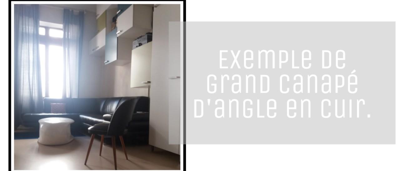 choisir un grand canape d angle deco tendance salon