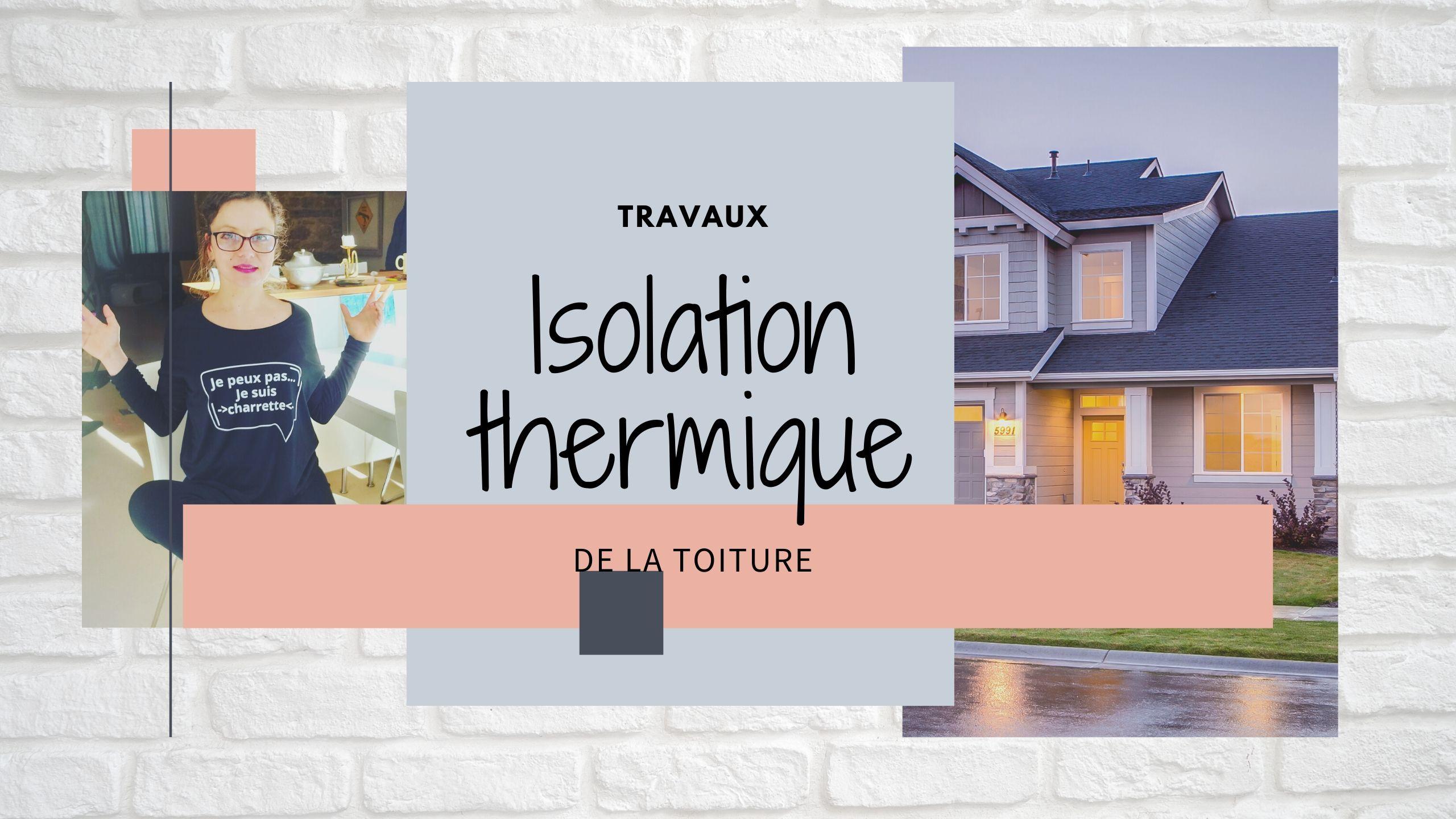 isolation thermique de la toiture