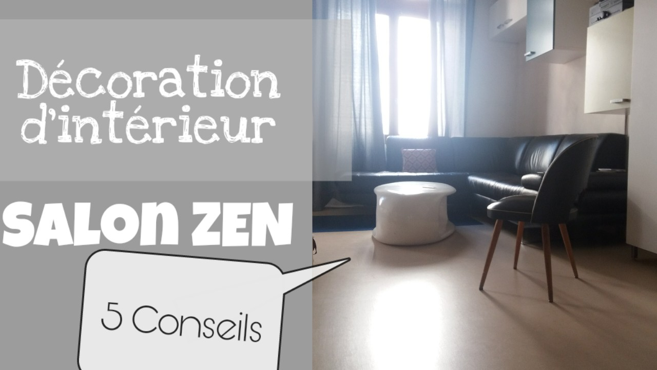 decoration interieur salon zen