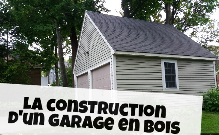 construction de garage en bois