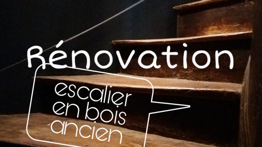 renovation escalier bois