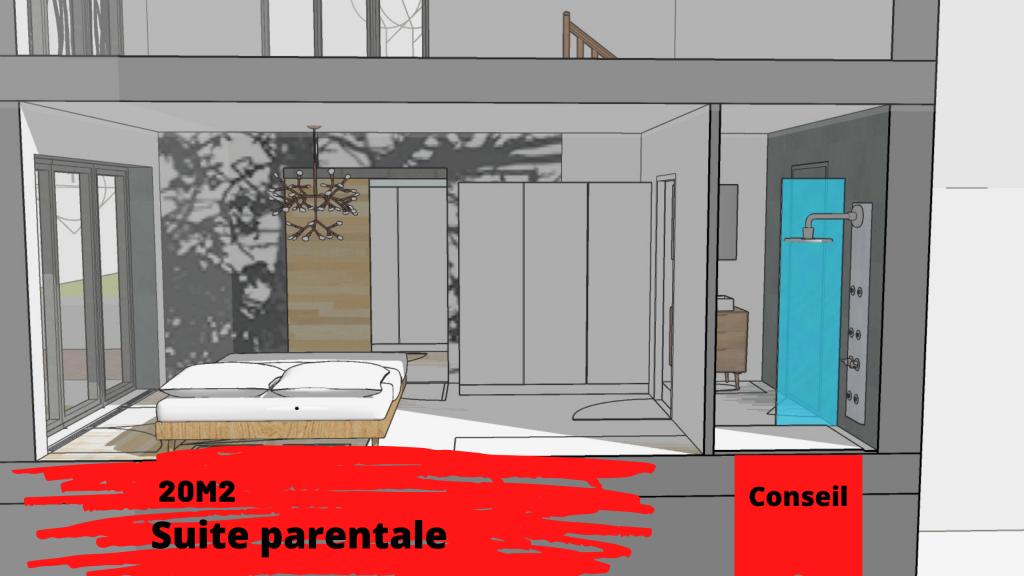 suite parentale 20m2