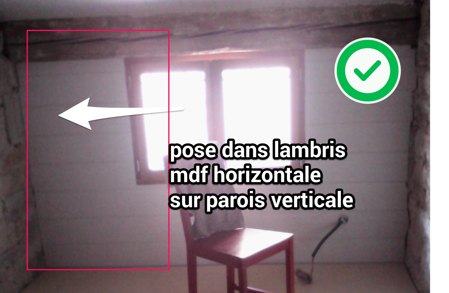 pose lambris plafond