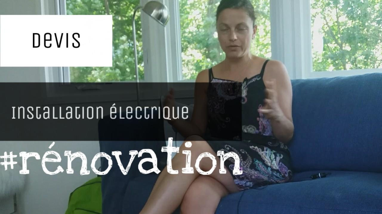 exemple devis installation electrique
