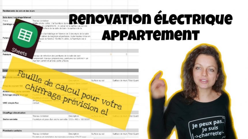 renovation electrique appartement maison