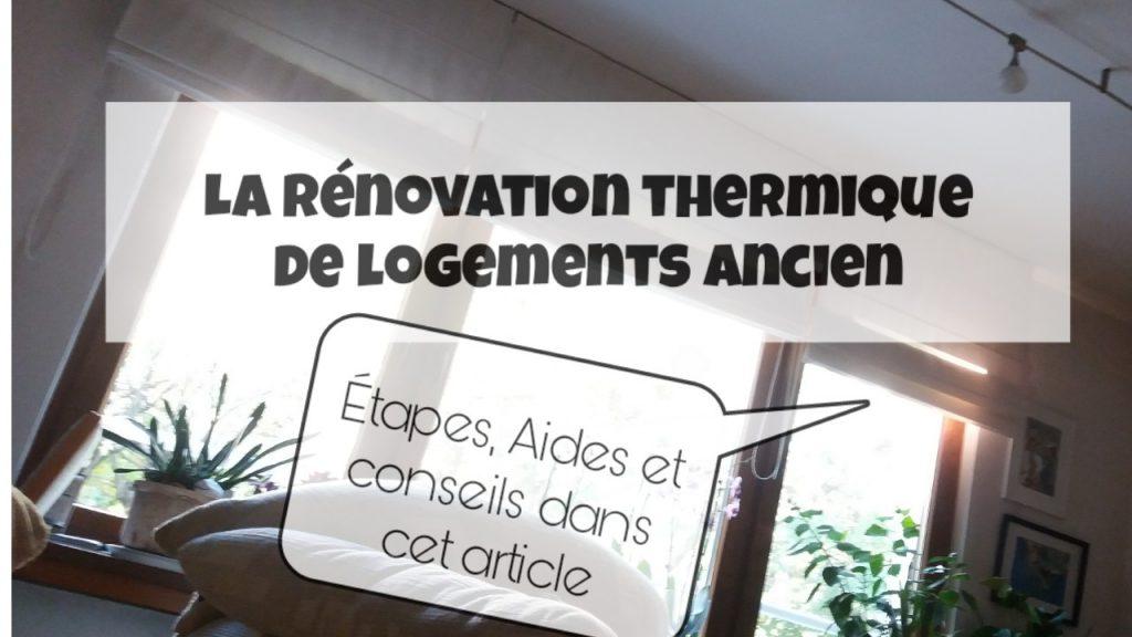 renovation thermique logement ancien