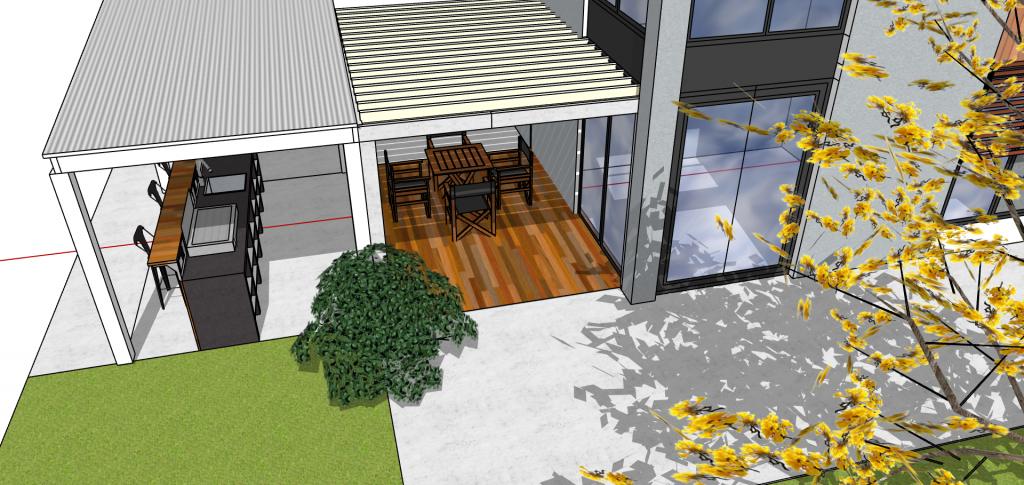 comment faire terrasse beton decoratif