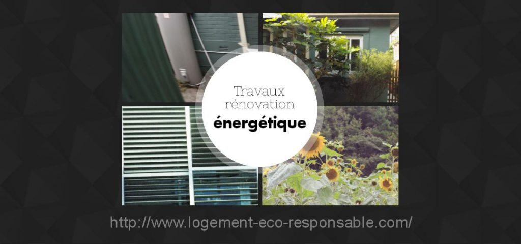 travaux de renovation energetique