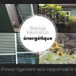 travaux de renovation energetique