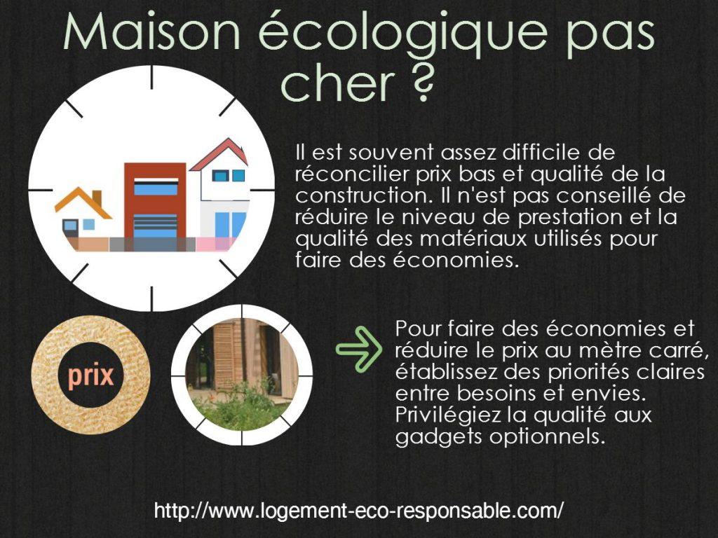 maison écologique pas cher