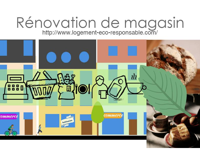 renovation de magasin