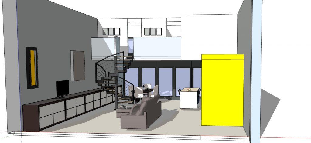 exemple d'appartement en duplex
