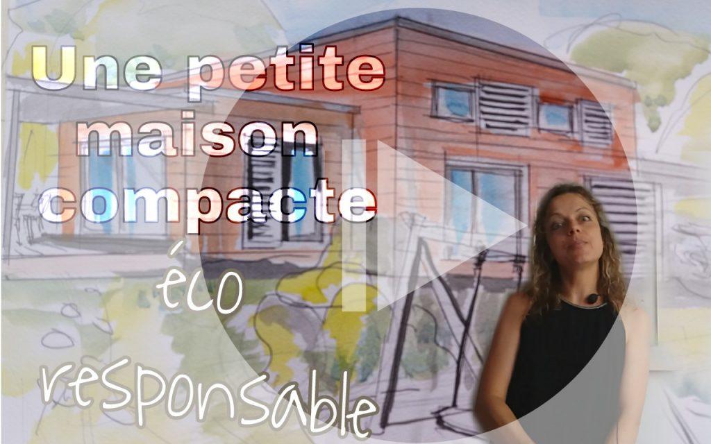 petite maison compacte éco responsable
