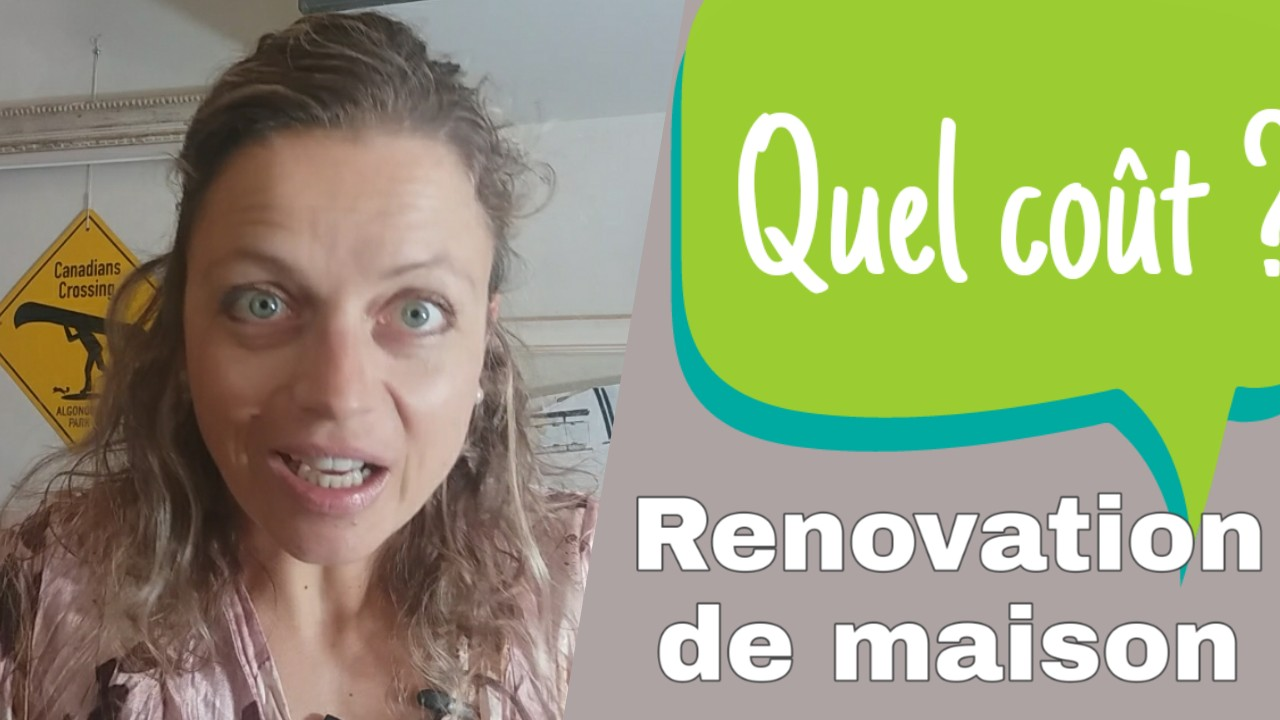 cout renovation maison