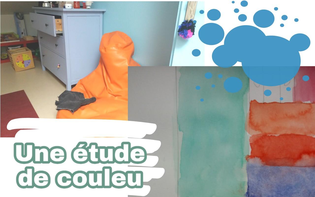 etude de couleur pour chambre ado