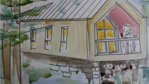 maison en longueur