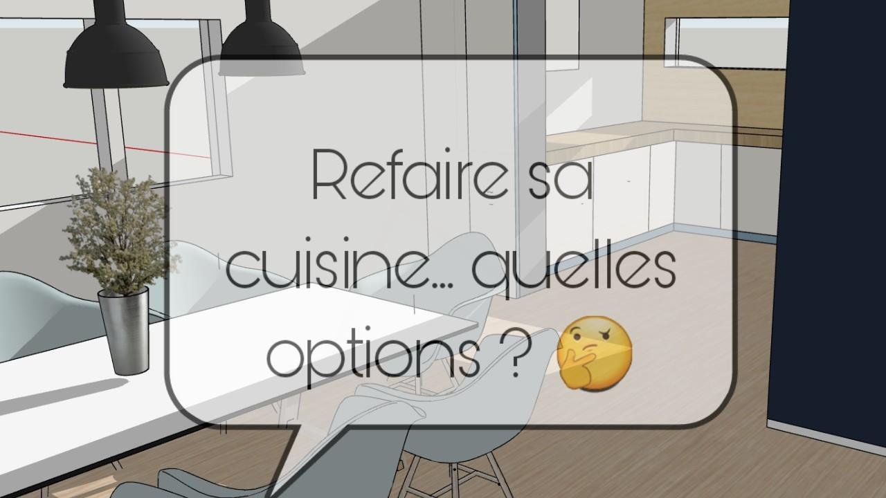 refaire sa cuisine quelles options