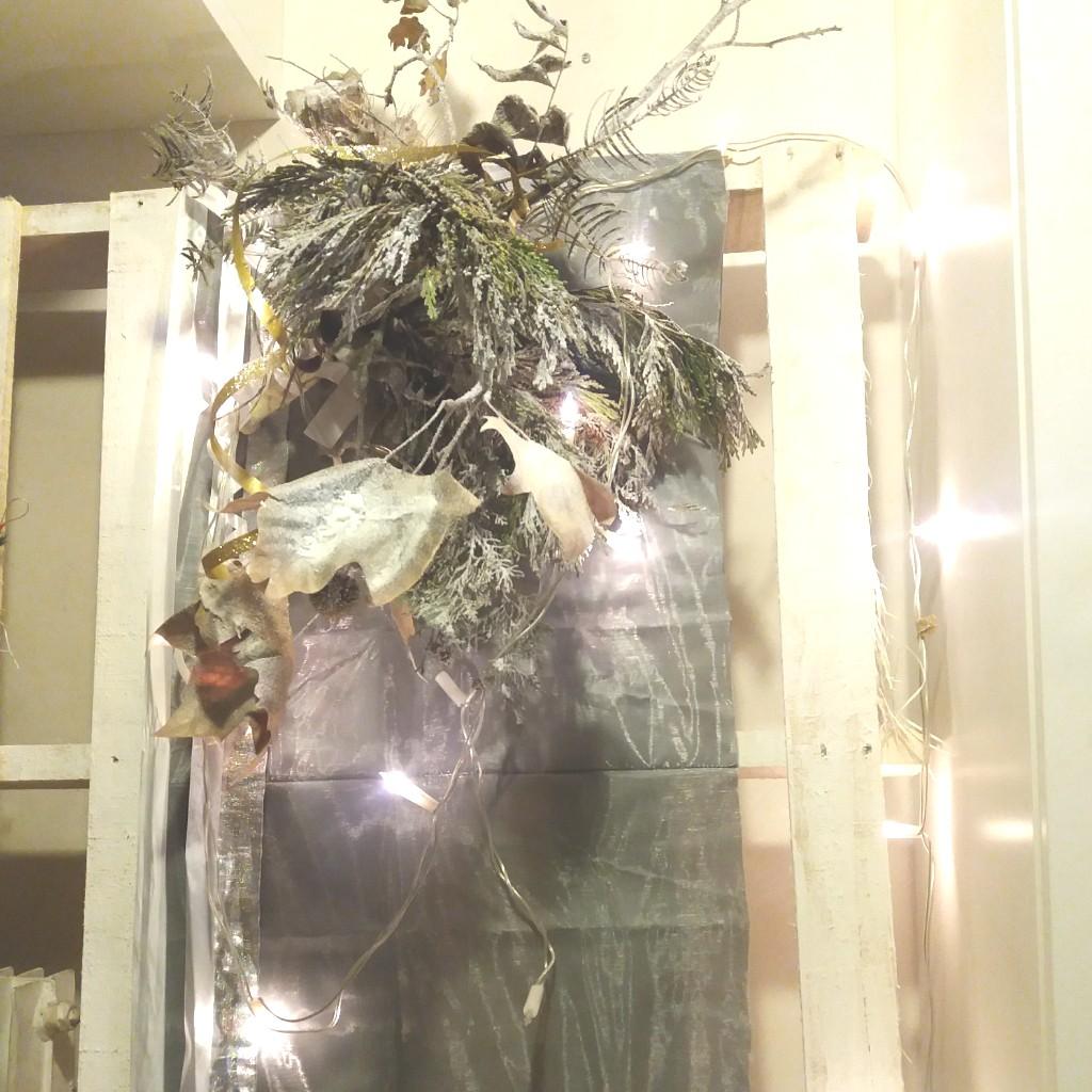 bouquet feuilles sèches