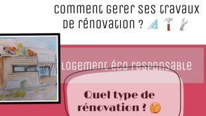 comment gerer ses travaux de renovation