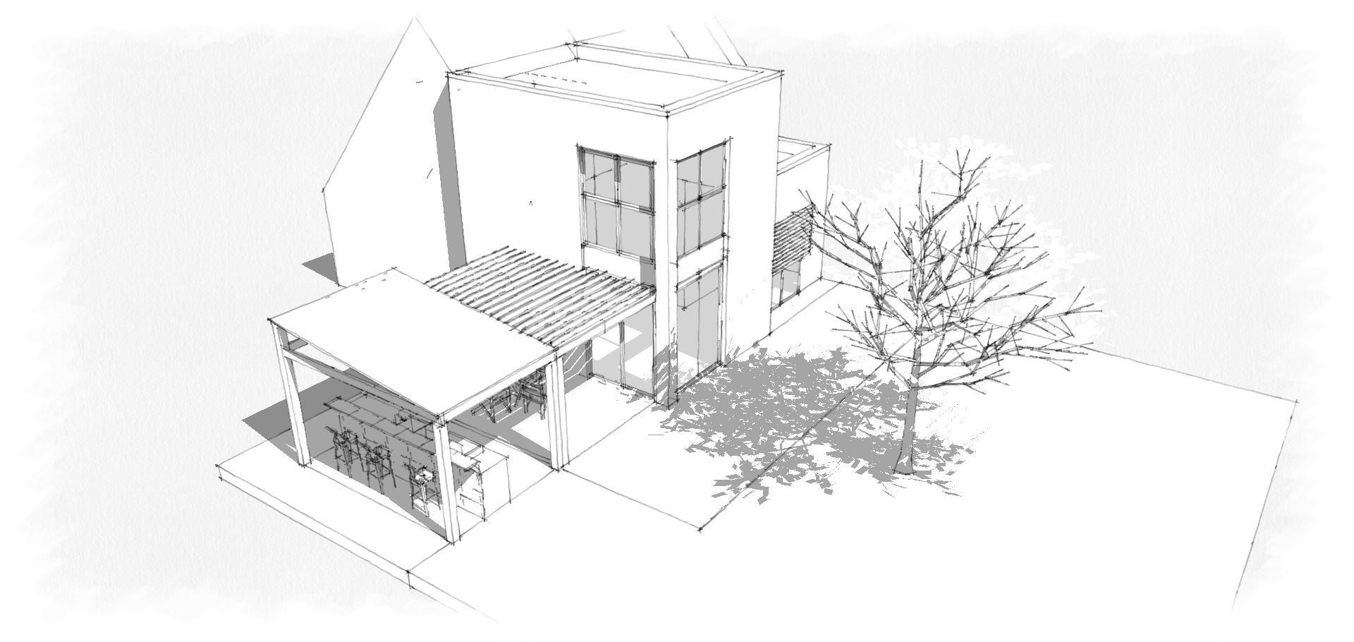 extensionde maison a etage
