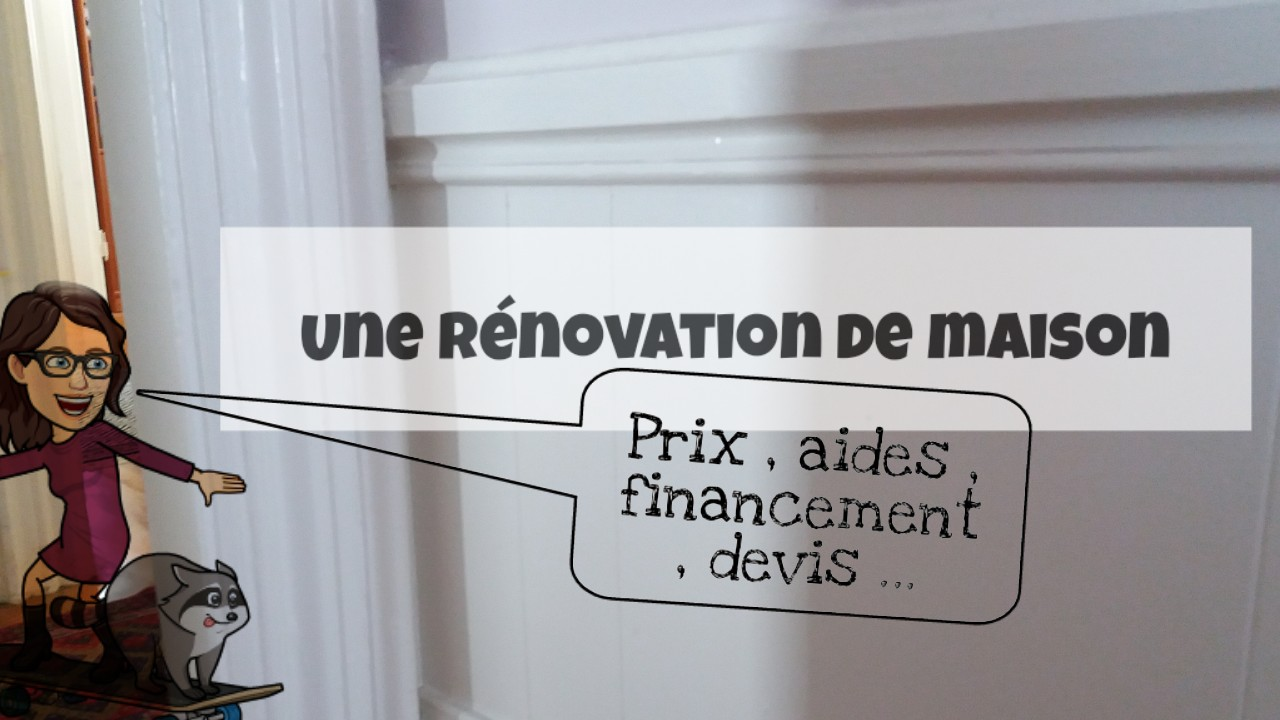 prix travaux renovation maison