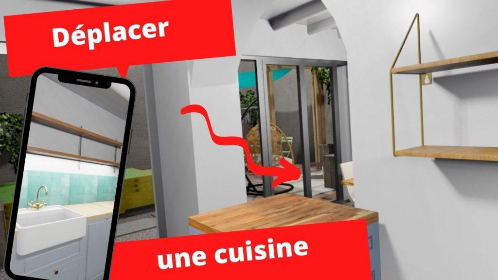 deplacer une cuisine